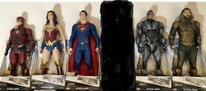 JUSTICE LEAGUE 20 inc SUPERMAN WONDER WOMAN FLASH AQUAMAN CYBORG