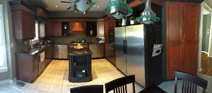Kitchen for sale (cabinets, countertops, appliances, sink)