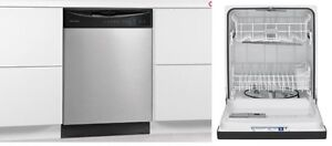 FREE Frigidaire 24'' Stainless Steel Built-In Dishwasher