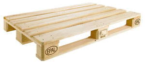 WANTED - EUROPALLETS - USED
