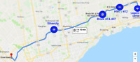 Carpool - share a ride from Oshawa to Brampton - 9 to 5