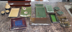 Large Selection of Sushi Plates and Serving Platters