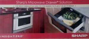 SHARP BUILT IN (NEW) MICROWAVE DRAWER