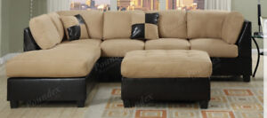 ELEGANT, MODERN SECTIONAL SOFA