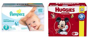 Couches jetables pour bébé à vendre !!!