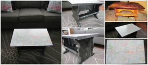 London Map Accent Table London Ontario image 1