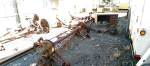 7000 LB  TANDEM AXLES WITH ELECTRIC BRAKES AND SPRINGS