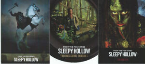 2015 Sleepy Hollow Base Card Set (63 cards) and 2 Insert Sets