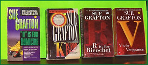 Lot of 4 Sue Grafton Pocket Books