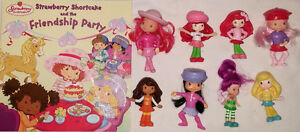 Strawberry Shortcake Friendship Book & 8 Toy Figures (Lot #2) London Ontario image 1