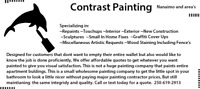 Contrast Painting, for all the custom specialty you request.