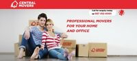 (587) 412-0001 CENTRAL MOVERS ` LAST MINUTE SERVICE ` MOVING