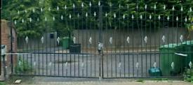 Metal Driveway Gates wrought gate 8ft elagant design