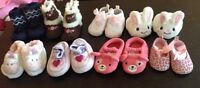 Baby girl shoes and slippers