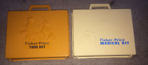 Fisher Price Tool & Medical Kits 1970s 1977 Both $15 or $10 each