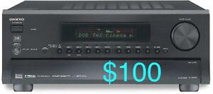 AMPLI RECEIVER Onkyo TXNR901 7.1 110 Watt RMS x 7 TelecommandeA