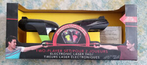 Two Player Electronic Laser Tag (Black Series)