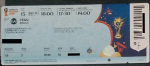 Fifa World Cup 2018 Final Ticket