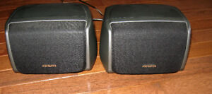 50W AIWA bookshelf or wall speakers -model No. SX-R240