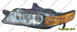 Head Light Driver Side With HID Canada Type High Quality Acura TL 2004-2005