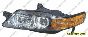 Head Light Driver Side With HID Usa Type High Quality Acura TL 2004-2005