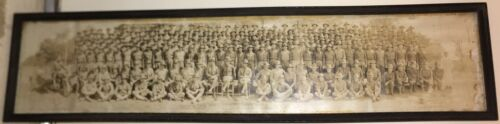 WW 1 original Unit Photograph 6th Co. 161st Depot Brigade Camp Grant, Ill 9/1916