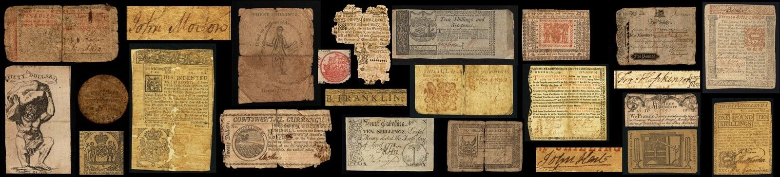MadSciGuy's Colonial Currency Shop