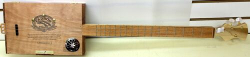 Padron 4000 Maduro Cigars Handmade Cigar Box Guitar Acoustic/Electric 3-String