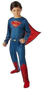 Original Superman Dawn of Justice Comic Superheld Kostüm Supermann - Super Mann Kostüm Kinder
