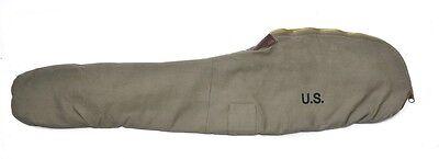 World War 2 M1 Garand Fleece Lined Canvas Case Dark Od Marked Jt L 1944
