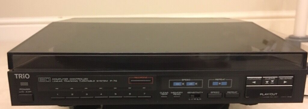 Kenwood Trio P-7G Direct Drive Turntable