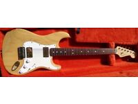 2005 Fender USA American Standard Stratocaster with Tremolo Arm and case