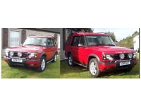 Discovery TD5 , RED, * no MOT *