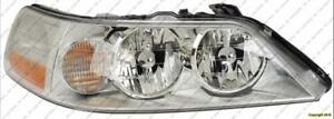 Head Light Passenger Side Without Hid High Quality Lincoln Town Car  2003-2004