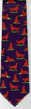 Irish Red Setter Tie New In Package*