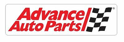 Advance Auto Parts Sticker Decal R340 Racing Race Car