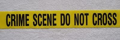 CRIME SCENE   DO NOT CROSS TAPE -25 FEET - PARTY SUPPLIES  (Party Scene Tape)