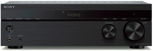 Sony STRDH190 Home Stereo Receiver with Phono Inputs & Bluetooth Black new!!!
