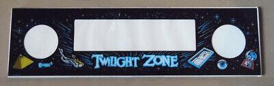 TWILIGHT ZONE Pinball Machine Speaker Panel NEW