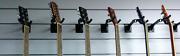 Haze CB-01 Guitar Wall Hanger Stand Frame Rack Holder Hook Black Girraween Parramatta Area Preview