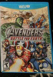 WiiU (Avengers - Battle For Earth)
