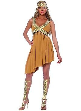 Cultural Costumes (Costume Culture by Franco Ancient Beauty Costume 48263 Brown/Gold)