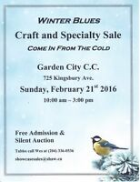 Craft Sale Tables Available