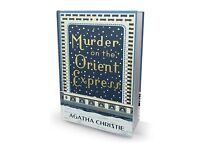 Murder on The Orient Express - NEW Hardback cover edition!