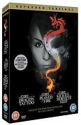 The Girl with The Dragon Tattoo Trilogy DVD