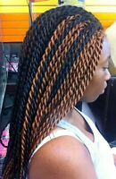 coiffeuse africaine experiementee