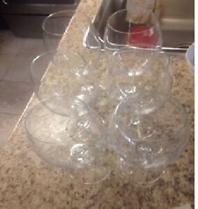 6x Never used, Large Wine Glasses! Great quality!