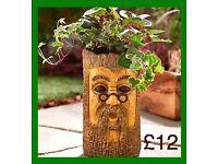 Trunk Design Garden Planter - Brand new