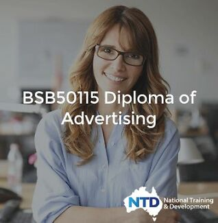 Diploma of Advertising - $0 to pay UPFRONT! Brisbane City Brisbane North West Preview