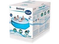 Best way fast set pool 8ft